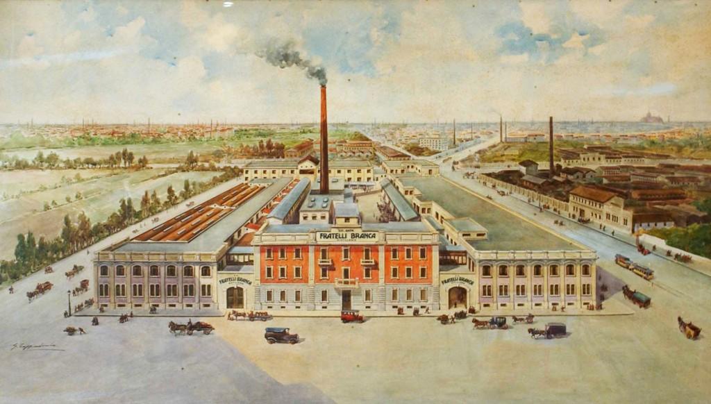 1907 Branca Distillerie