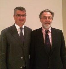 Il prof. Piero Almiento, docente Area Marketing SDA Bocconi e Niccolò Branca