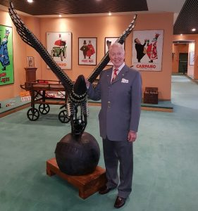 Tony Buzan in Branca
