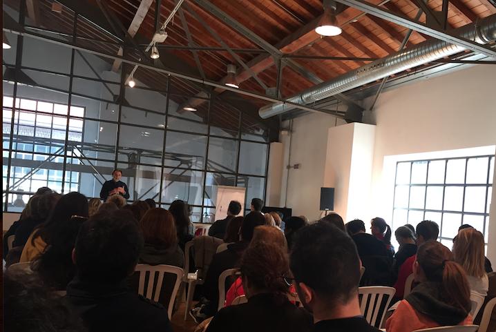 Le immagini del mio incontro con il pubblico allo Yoga Festival Milano