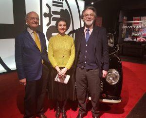 Pietro Cozzi, Filomena Pucci e Niccolò Branca