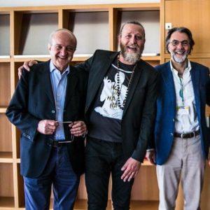 Mario Biava, Richard Romagnoli e Niccolò Branca