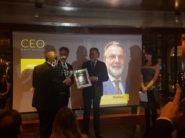 Ho ricevuto il CEO Italian Award 2019