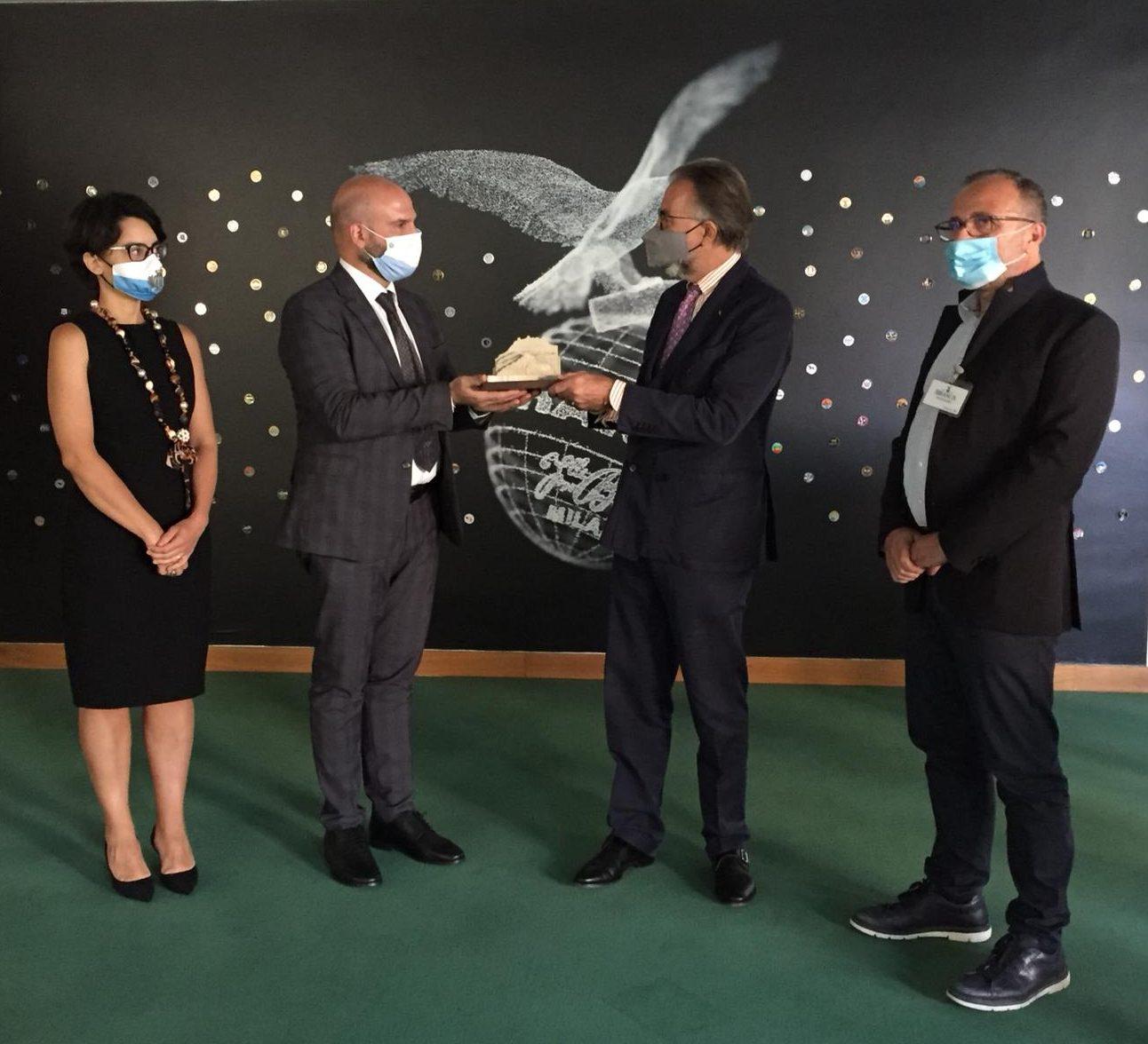 Visita in Branca di una delegazione della Repubblica di San Marino
