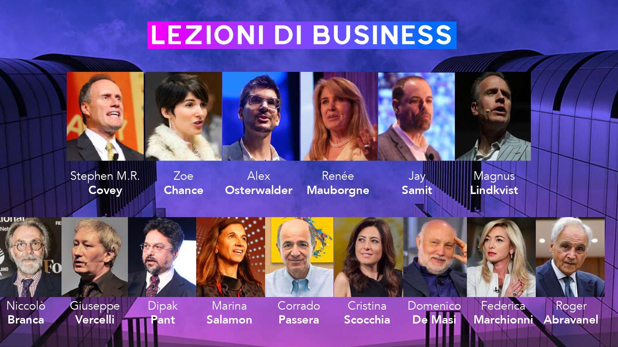 LEZIONI DI BUSINESS